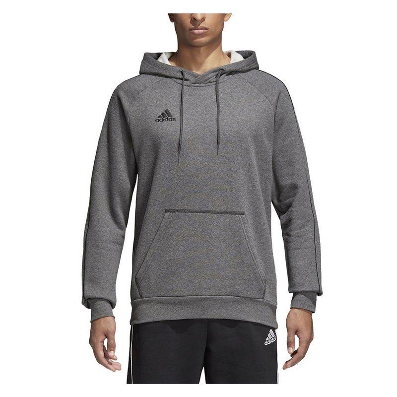 Brandi   Sklep sportowy Obuwie, Odzież, Akcesoria > Bluza męska adidas Core 18 Hoody szara CV3327