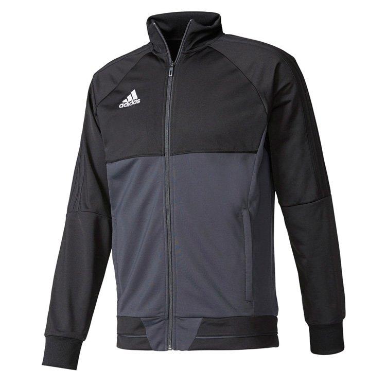 Dres męski Adidas Tiro 17 Czarno szary