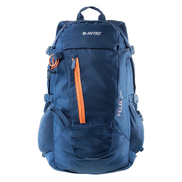 a6a1fed4657cd Plecak trekkingowy Felix 25L Hi-Tec - Ciemnoniebieski